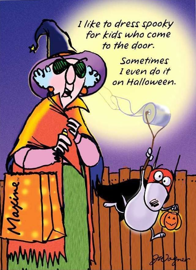 Pin by Kay Kerkeslager on Maxine (With images) Halloween
