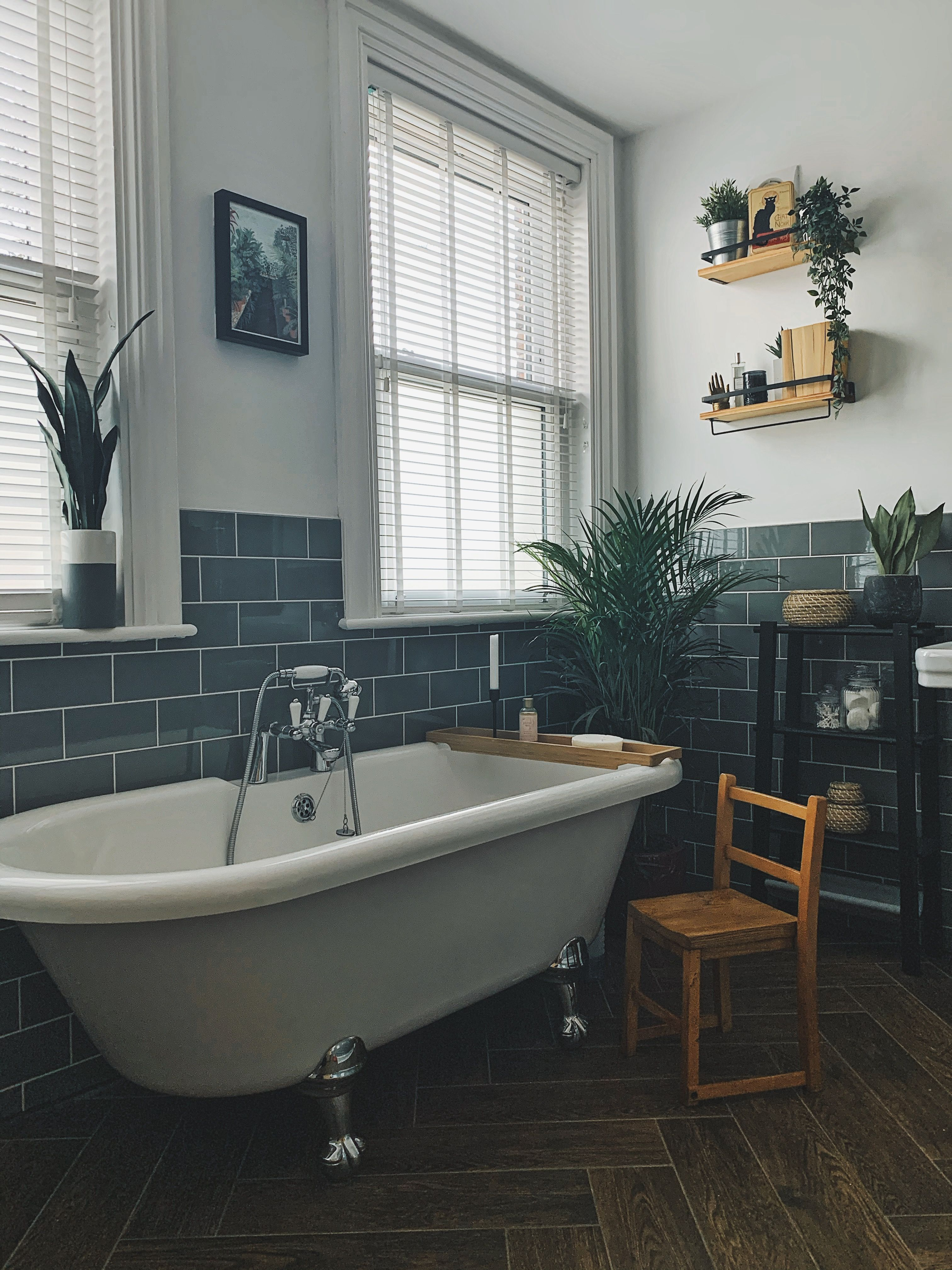 Period Bathroom In 2020 Brick Tiles Bathroom White Tile Floor Brick Bathroom