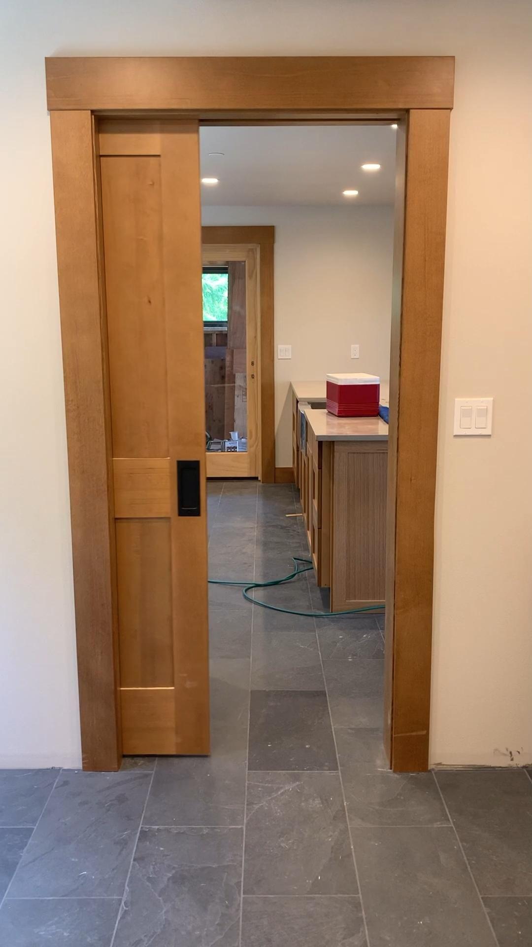 Cavity Sliders Soft Close Door