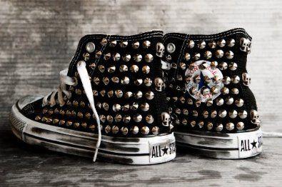 scarpe nike borchie