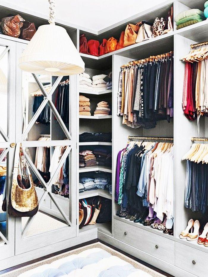 5 astuces pour trier son dressing d co pinterest agencement dressing dressing et. Black Bedroom Furniture Sets. Home Design Ideas