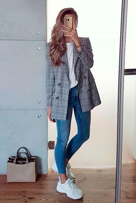 Más de 150 Imágenes Que Nos Prueban Que La Dupla De Blue Jeans Y Polera Blanca Es Todo Menos Aburrida