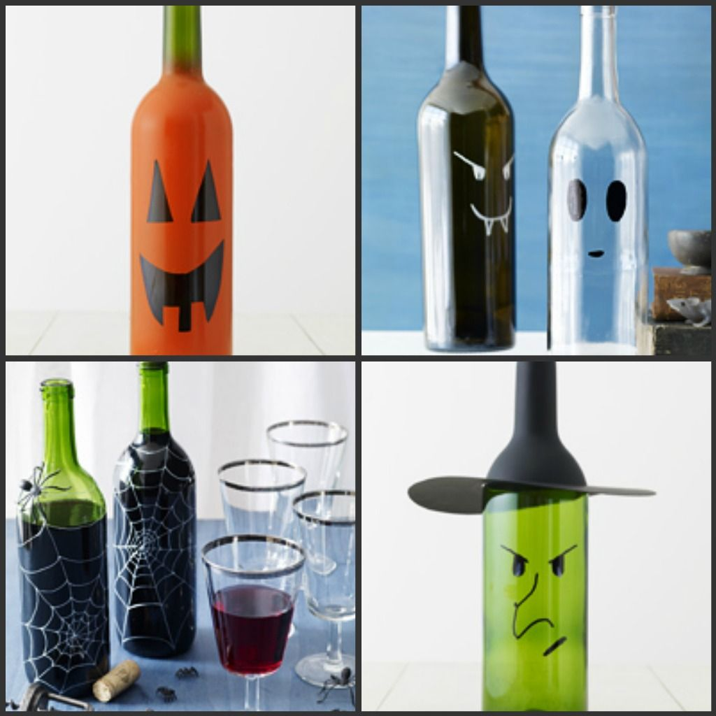 Empty Wine Bottle Ideas. Making This With My Granddaughter