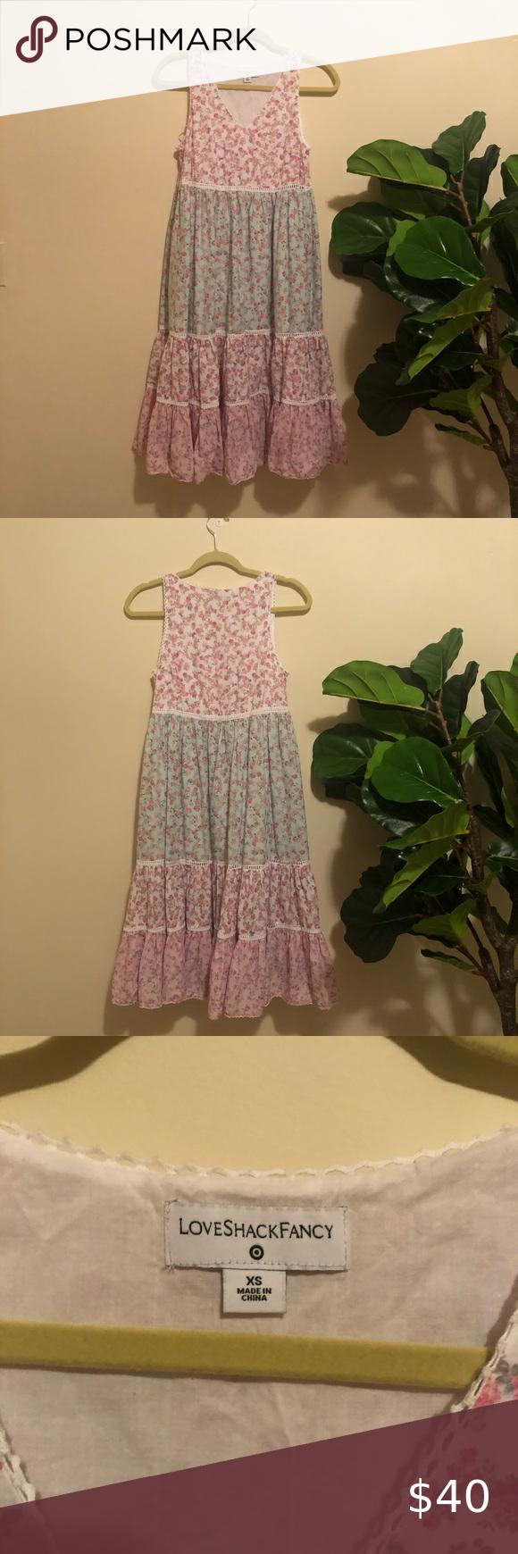 Loveshackfancy For Target Midi Dress In 2020 Loveshackfancy Midi Dress Dresses [ 1740 x 580 Pixel ]