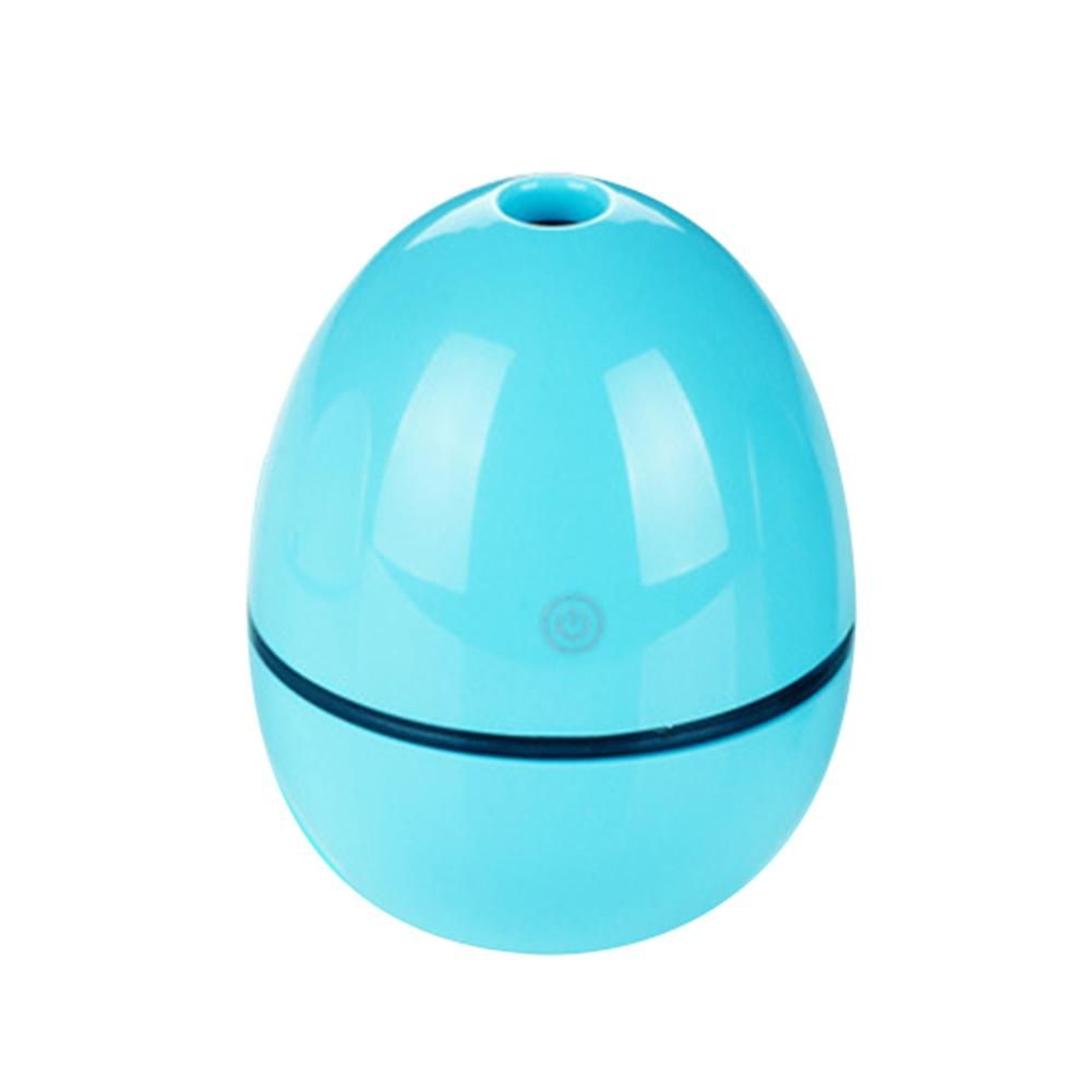 Portable Mini Home LED Night Light USB Humidifier Purifier Atomizer Air Diffuser - Blue