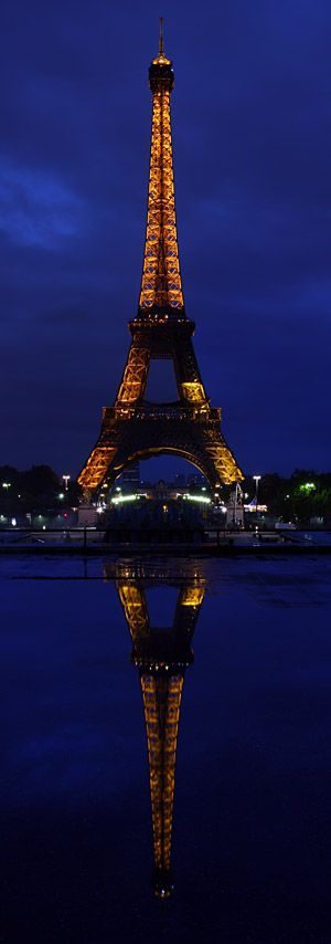 Reflection - Eiffel Tower, Paris