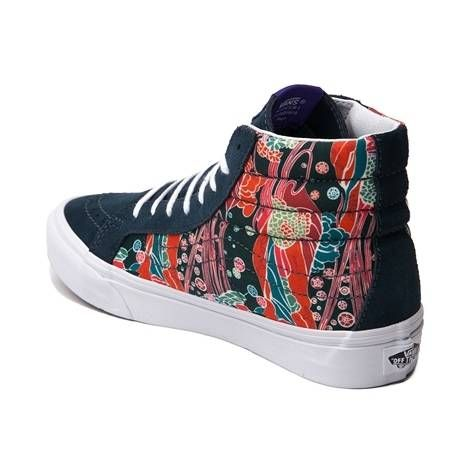 ca92e2e5c533ae 29.98 sale Vans and London-based Liberty Art Fabrics come together to  present this Sk8 Hi Slim style that features iconic Liberty prints from the  1960s.
