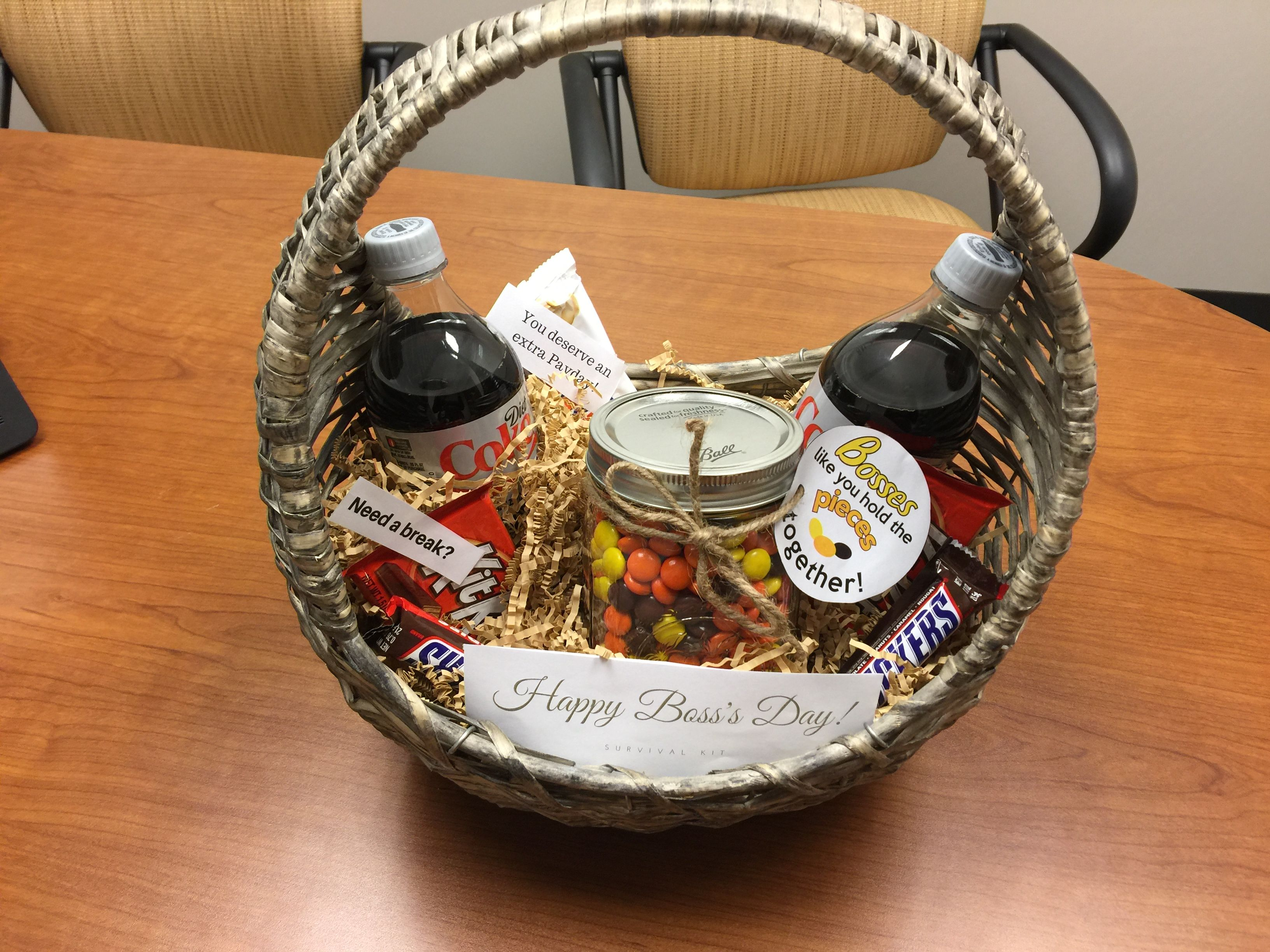 Bosss day survival kit bosses day day gifts