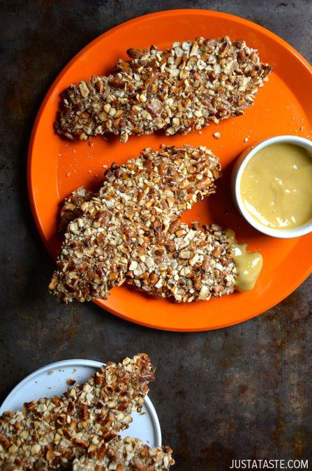 Baked Mel Mostarda Pretzel frango propostas # receita