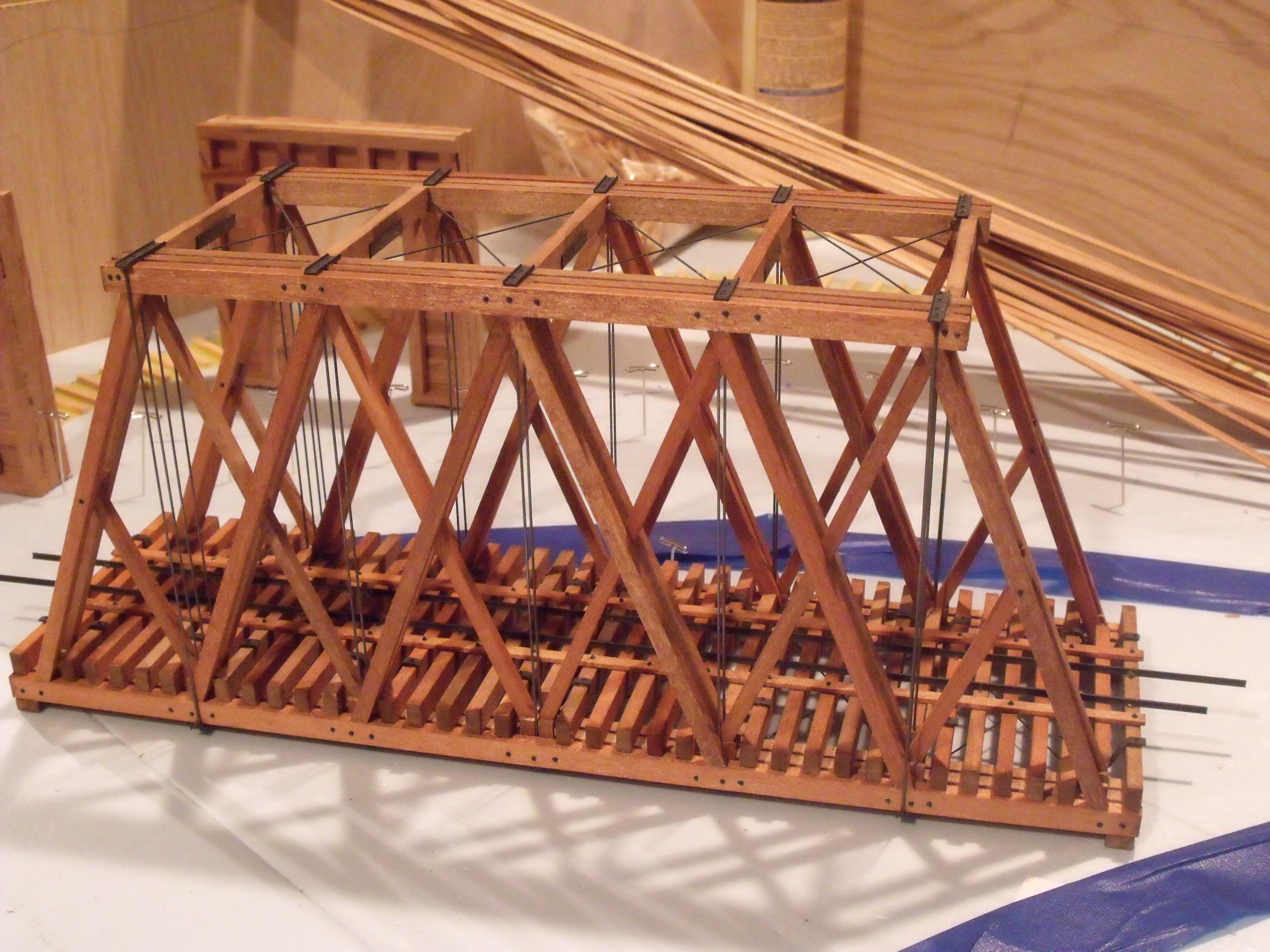 On30 Howe Truss Bridge On30 Train Related Items Ho Trains
