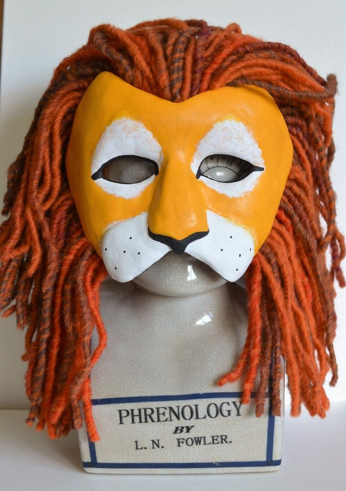 Lion Mask - Masquerade Mask - OOAK Handcrafted | project