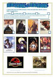 English worksheet: LISTENING & SPEAKING: FILM SCORES & FILM GENRES ...