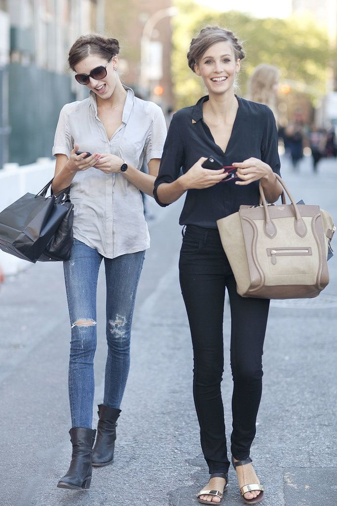 1444623bb4b0 love these outfits! need that celine bag.