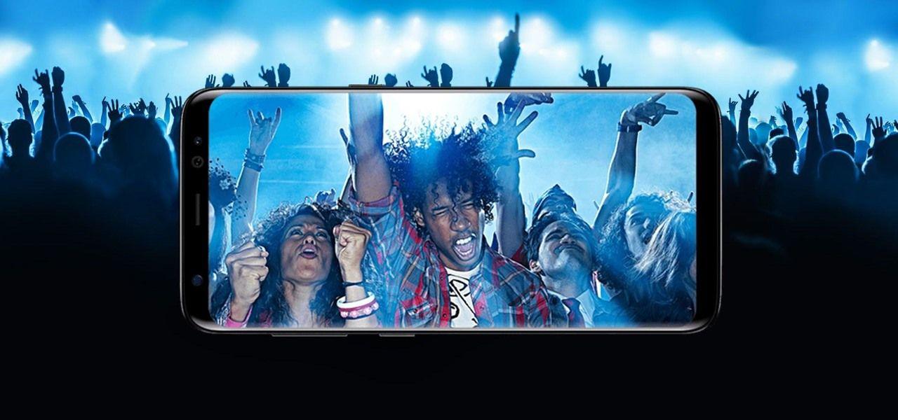 Appareil photo du Samsung Galaxy S8 !