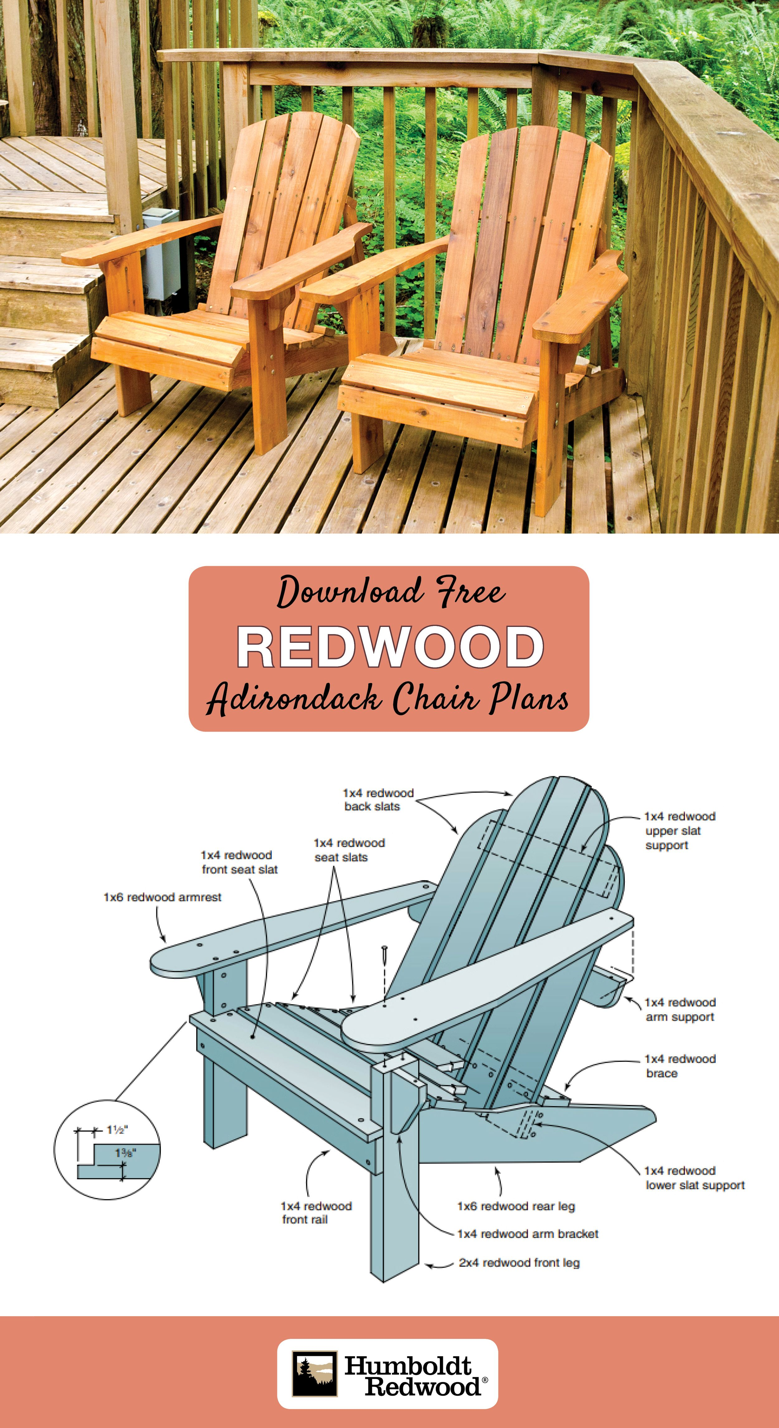 Redwood Adirondack Chair Plans Adirondack Chair Adirondack Chair Plans Elegant Chair