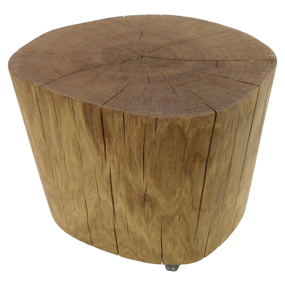 baumstamm tisch eiche ca 51 cm wooden tables rock pinterest baumstamm tisch tisch und. Black Bedroom Furniture Sets. Home Design Ideas
