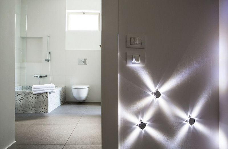 Bathroom Decoration With Led Ceiling Lighting Ideas Olpos Design Lights  Modern Fixtures