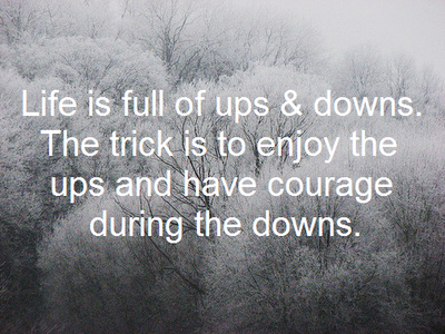 Ups Quote Ups And Downs Httpwwwsecretjarofsuccesswhydowehave