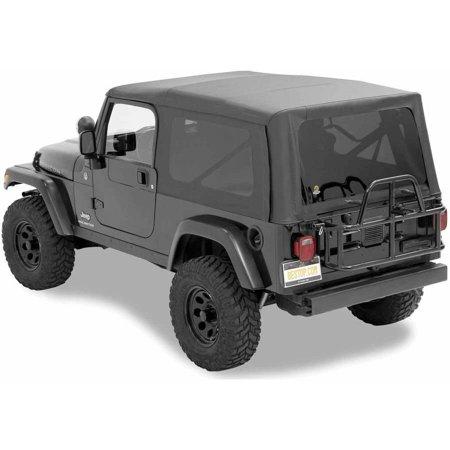 Black Jeep Wrangler Tinted Windows
