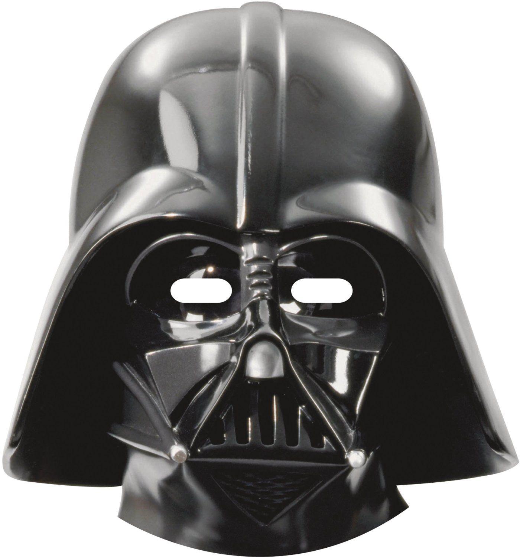 Maschera Star Wars Darth Vader 6 pezzi: Amazon.it: Giochi e giocattoli