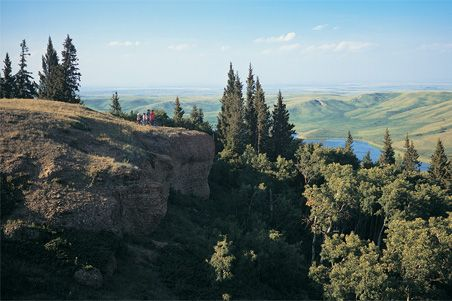 The Cypress Hills Which Were Never Glaciated Have A Rich And Exciting History