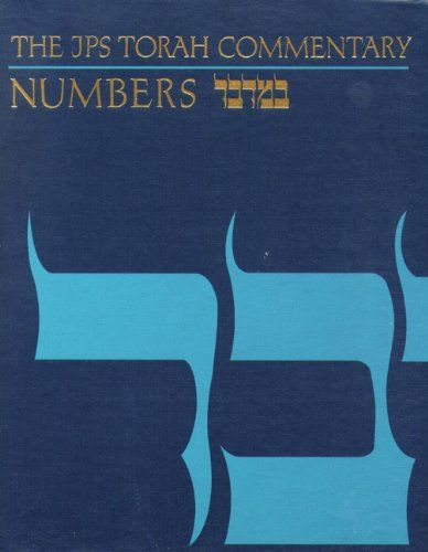 The Jps Torah Commentary Numbers English And Hebrew Edition By Jacob Milgrom Http Www Amazon Com Dp 0827603290 Ref Cm Sw R Torah Hebrew Text Hebrew Bible