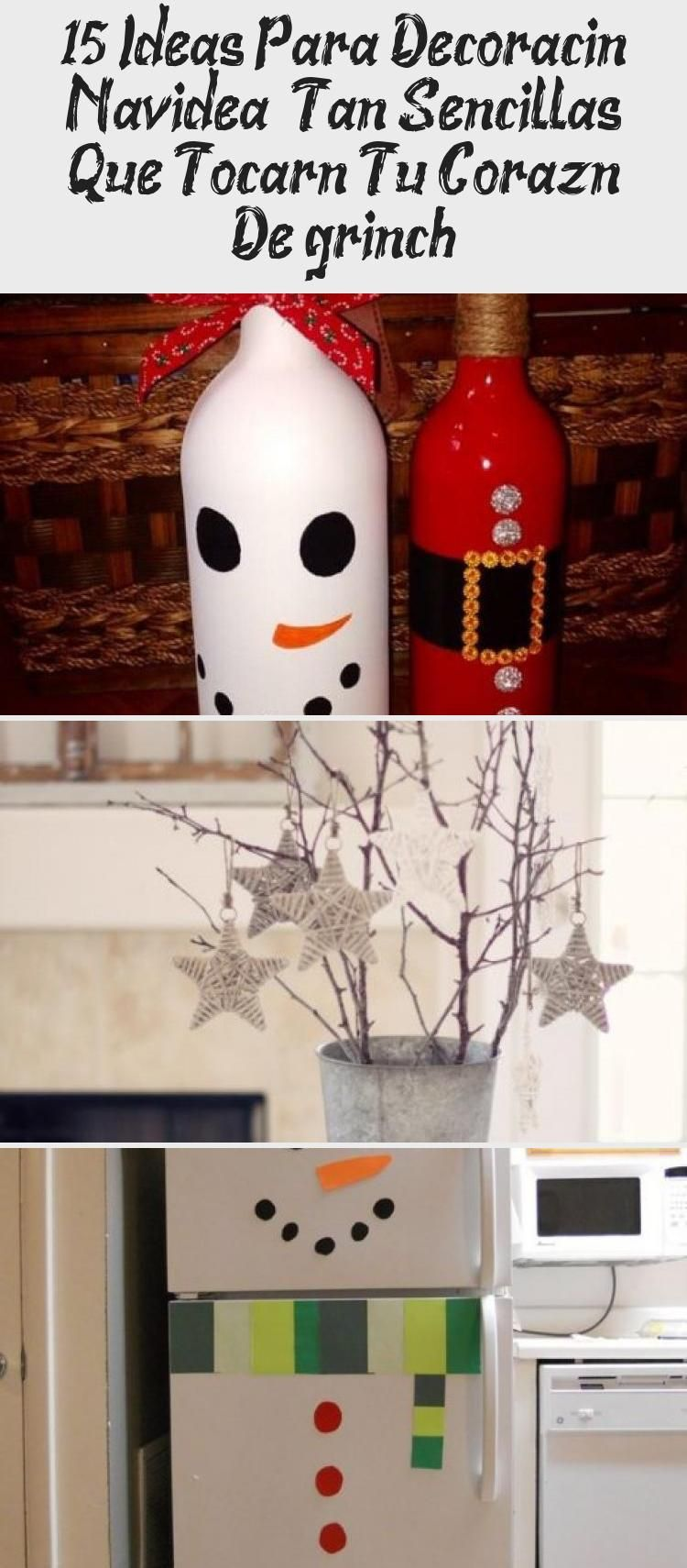 Navidad es la época ideal para demostrar tu creatividad, decorando tu hogar con manualidades fáciles hechas con materiales reciclados. Para lograr hacerlas no se requiere de grandes cantidades de dinero, solo de disposición y un poco de tiempo.  Siguiendo estas ideas puedes crear adornos bonitos, sencillos y prácticos para colocarlos en las puertas, el árbol o en la mesa #HomeDecorDIYVideosProjects #HomeDecorDIYVideosLivingRoom #HomeDecorDIYVideosIdeas #HomeDecorDIYVideosBedroom #HomeDecorDIYVid