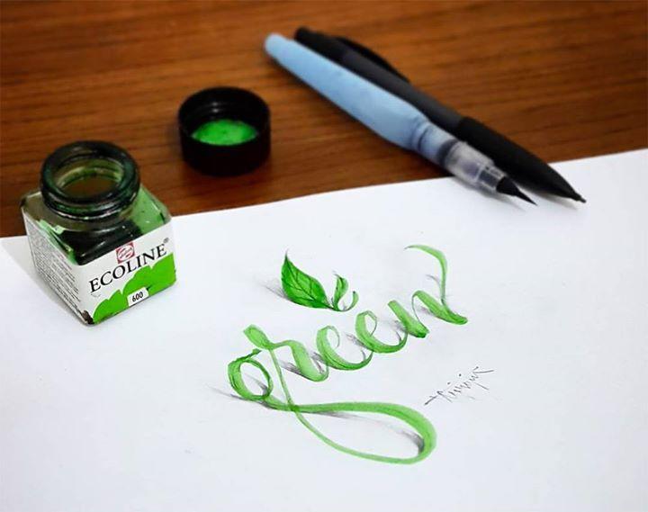 New 3D Calligraphy Exercises by Tolga Girgin http://ift.tt/1SxJFA3