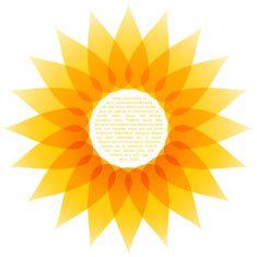 vector sunflower illustration vector art illustration logos rh pinterest com free vector sunflower outline free download vector sunflower