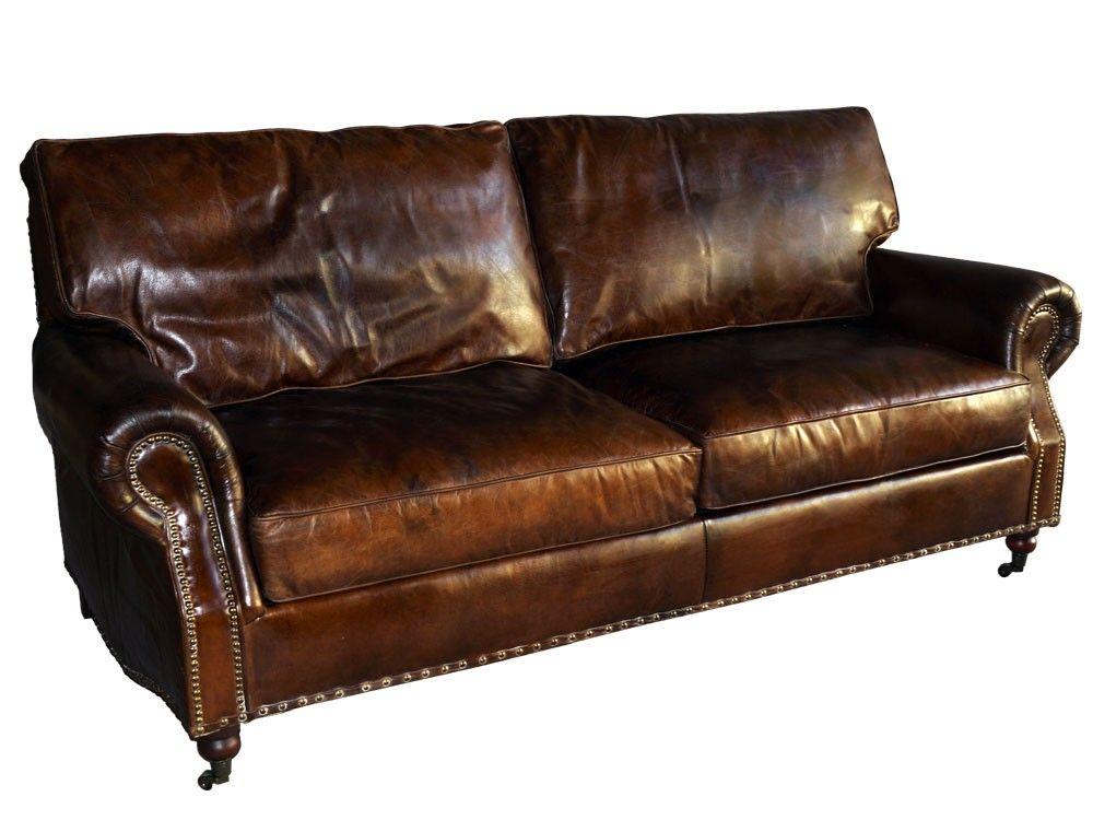 Loungesofa Wales 3 Sitzer Aus Vintage Leder By Vintage Line Vintage Sofa Leder Mobel Lounge
