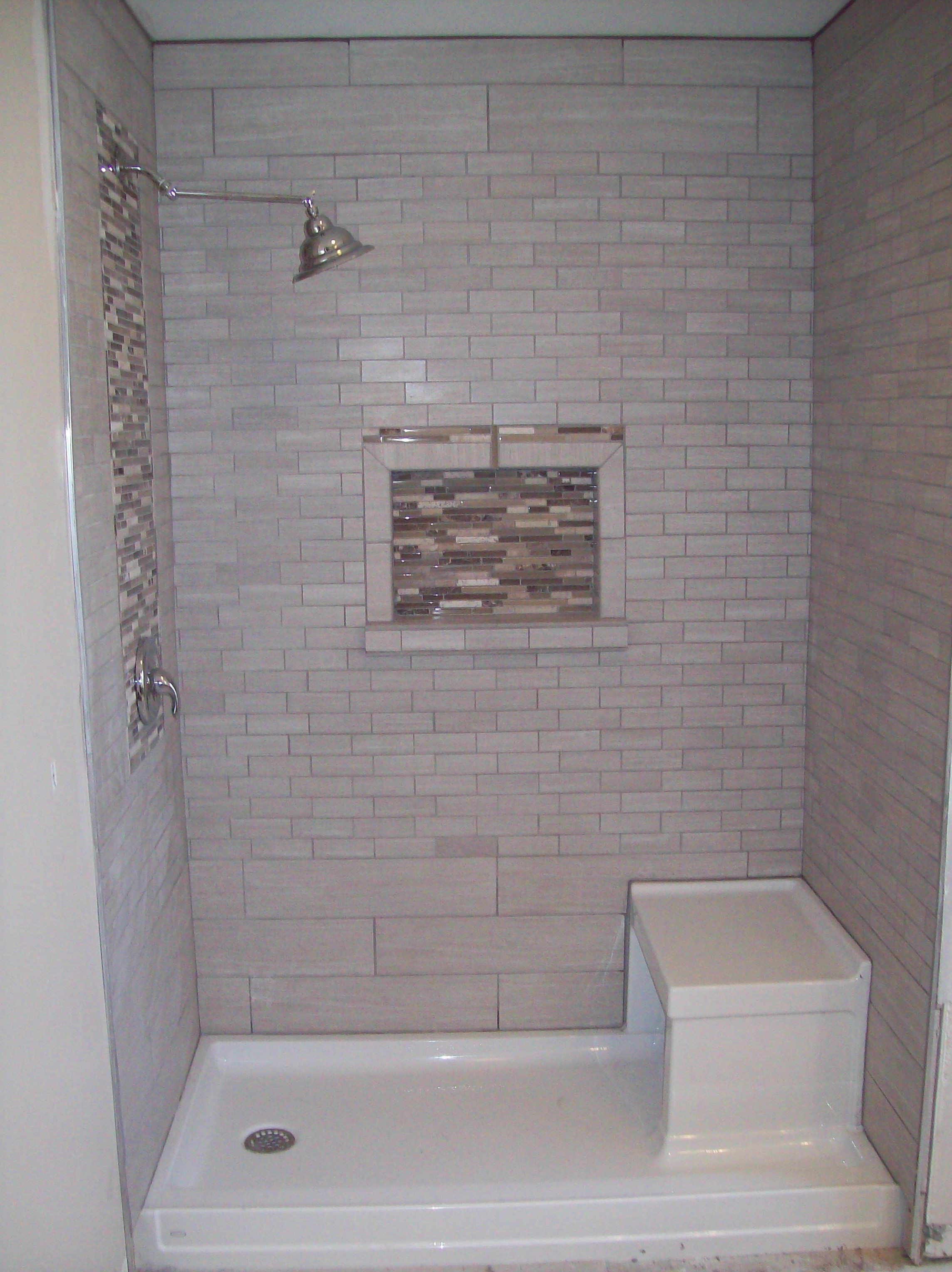 Had To Convert A Tub Into A Shower For Handicapped Access Kohler