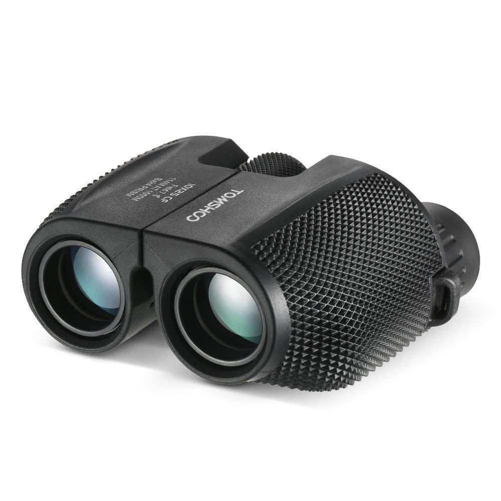 Win FREE TOMSHOO 10x25 Binocular Waterproof Compact BAK4