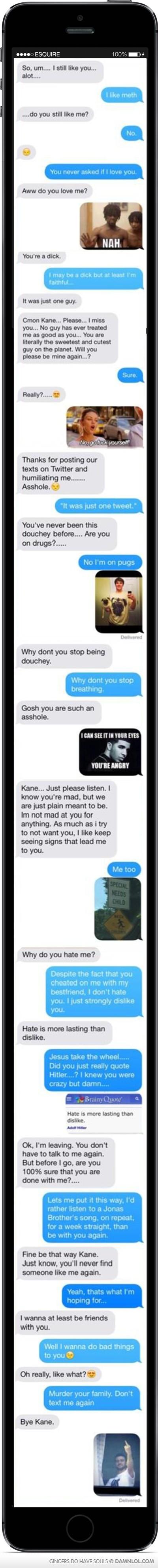Cheating Girlfriend Text Memes