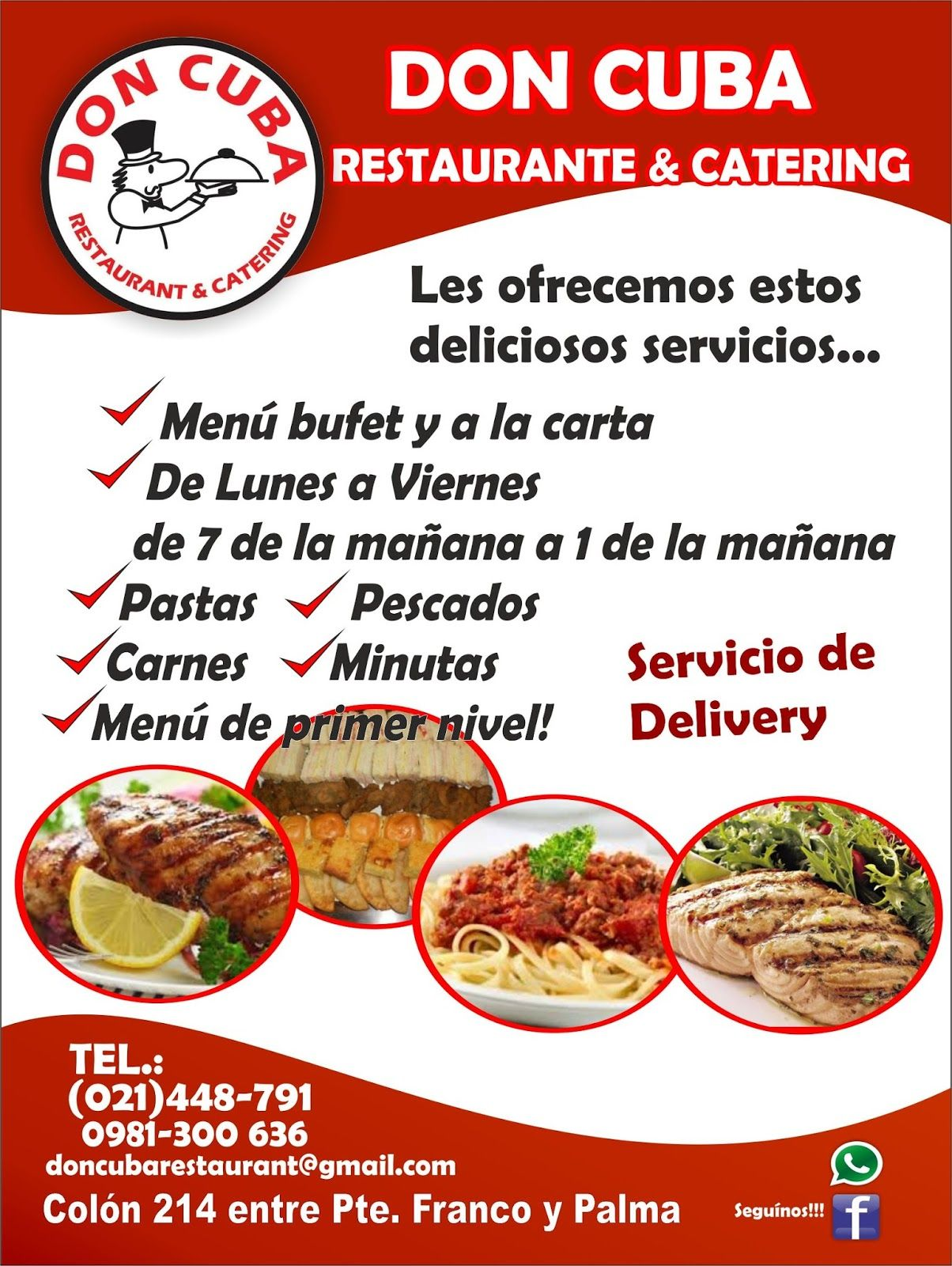 Volantes de comida mexicana