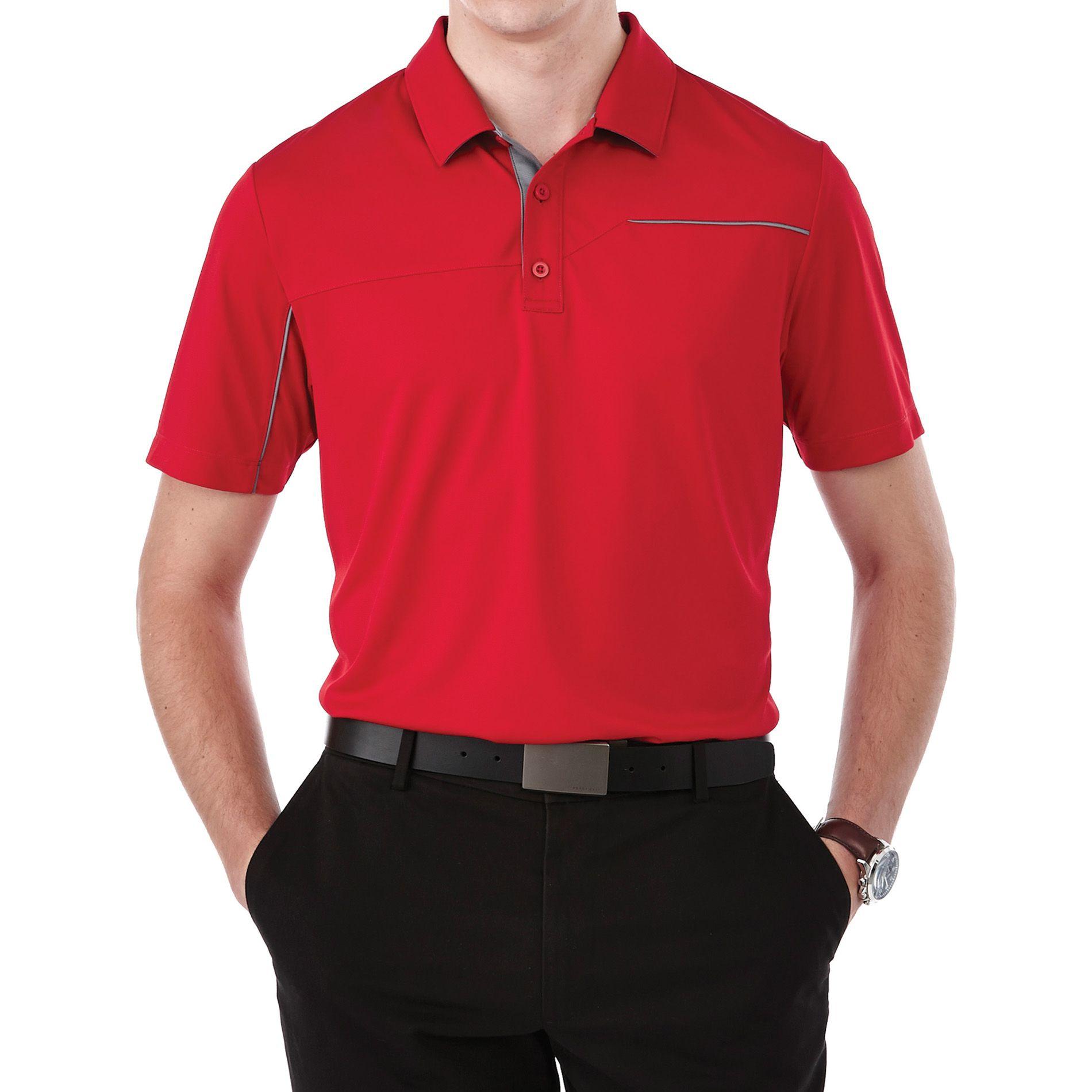 Elevate TM16309 Men's WILCOX Short Sleeve Polo Sports