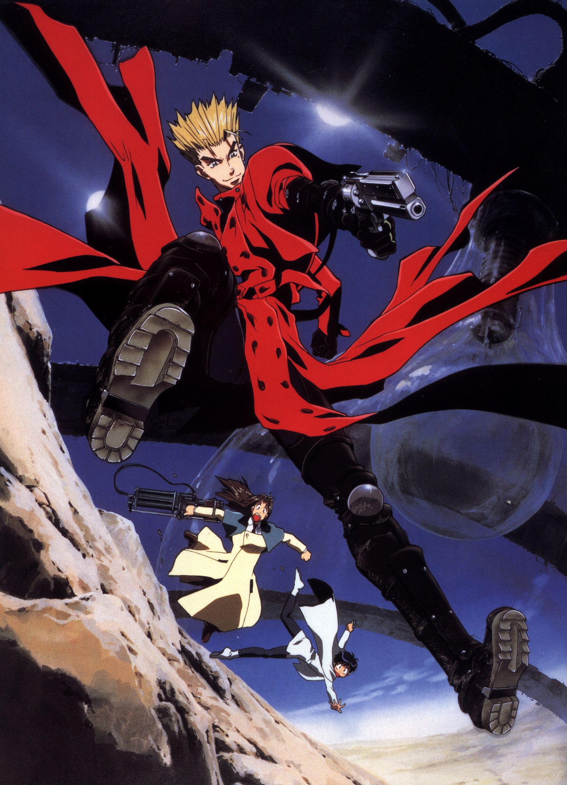 Res 1849x2560 Trigun Wallpaper For Android Trigun Anime Old Anime