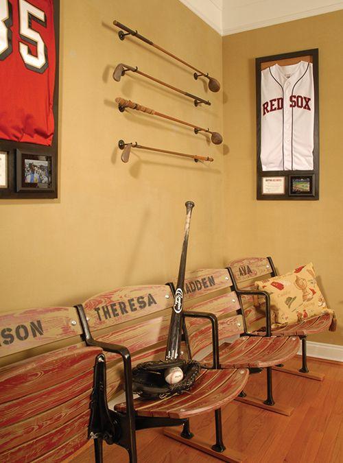 sports office decor. Unique Home Office Design Ideas With A Sports Décor Decor O