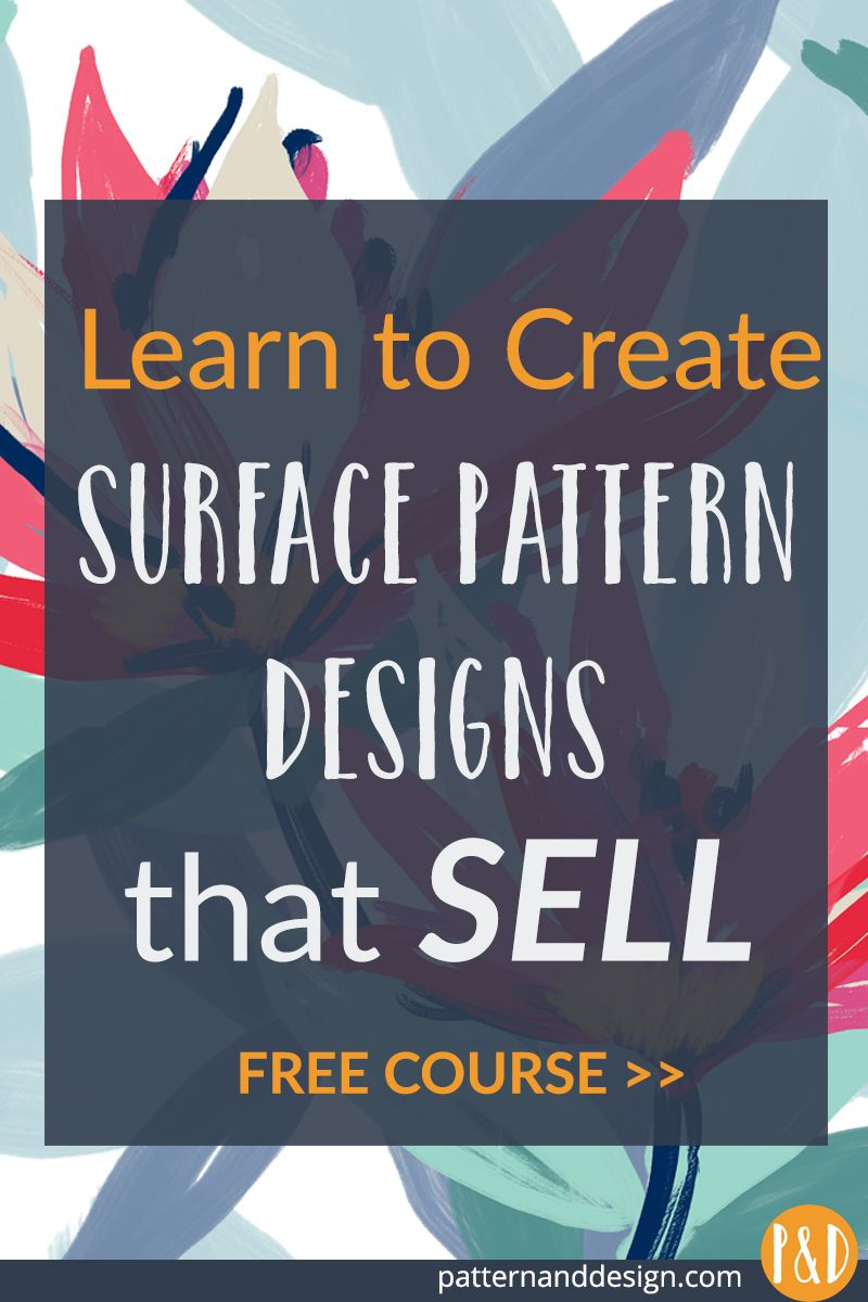 Free Course Create Surface Pattern Designs That Sell Surface