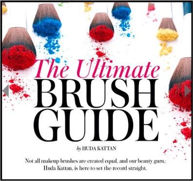 The Ultimate Brush Guide  #Beauty #Trusper #Tip