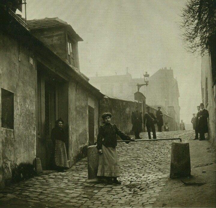 Paris 1904 Monmartre