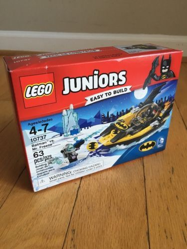 BATMAN VS MR FREEZE LEGO 10737 Juniors Building Set Complete Brand ...