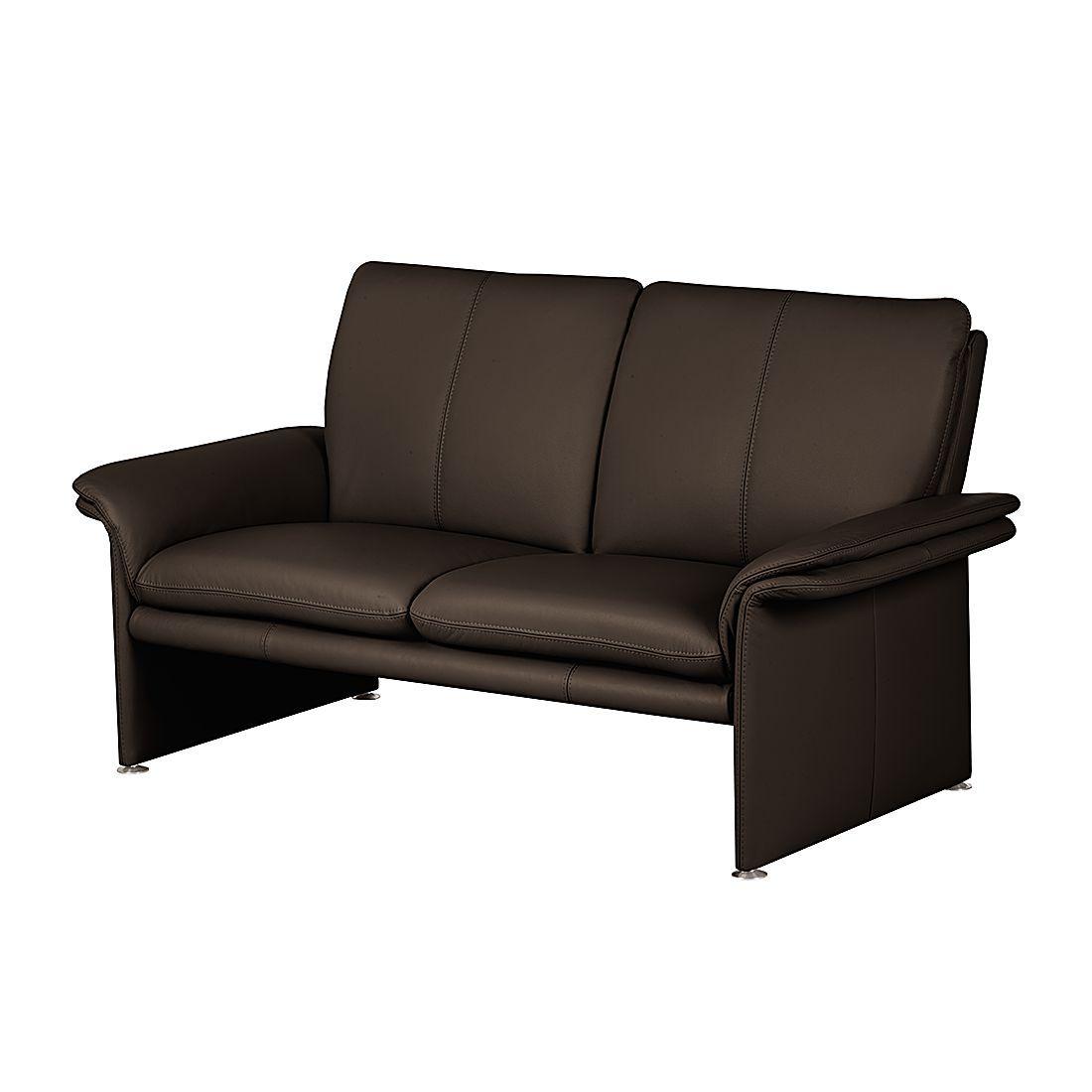 Modoform Sofa Capri 2 Sitzer Dunkelbraun Echtleder 164x90x88 Cm In 2020 Sofas Big Sofa Kaufen Sofa