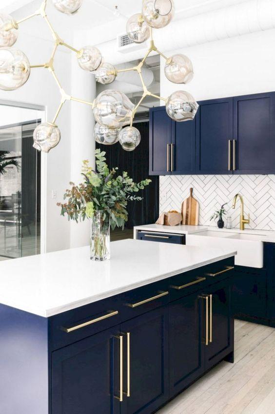 20 modern kitchen islands mineral pendants blue kitchen designs modern kitchen design home on kitchen island ideas cheap id=52508