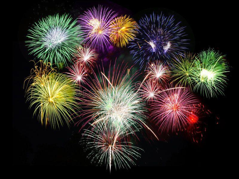 Fireworks Holidays Celebration Fireworks Displaying Against Black Sky Spon Celebration Holidays Firew Fireworks Fireworks Display Holiday Celebration