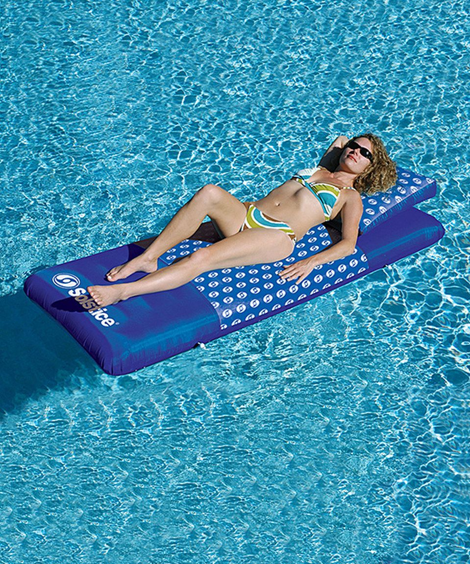 Another great find on #zulily! Solstice DesignerMattress Floating Lounger by Solstice #zulilyfinds