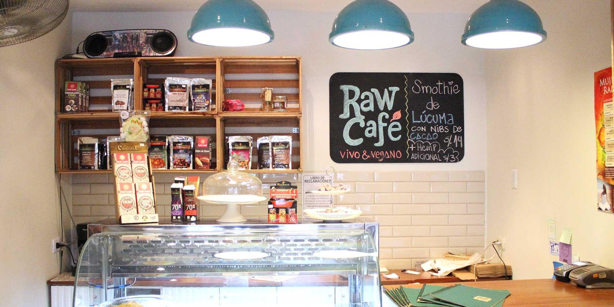 Cafe raw - Independencia 587, Miraflores. Por el Suiza Lab de Angamos Oeste / Peru