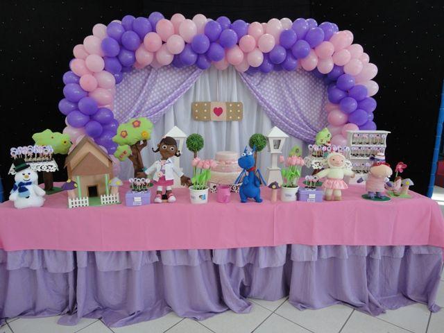 decoração festa doutora brinquedos - Google Search
