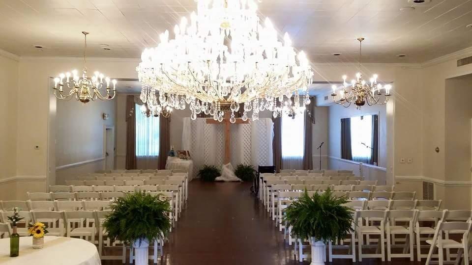 Marion hatcher center downtown Augusta, Ga Wedding