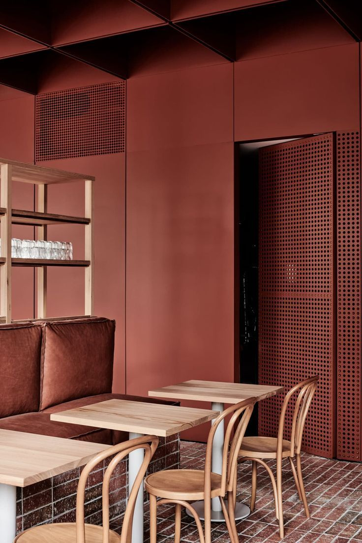 Bentwood Cafe In Fitzroy Melbourne By Ritz Ghougassian Yellowtrace Cafe Interior Commercial Interior Design Restaurant Interior