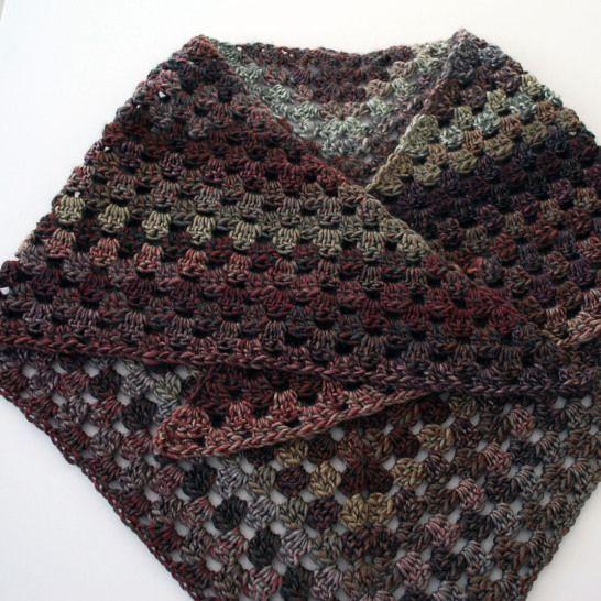 How To Crochet A Granny Triangle Shawl Free Video Tutorial Shawl
